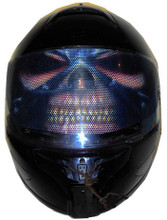 Heavy Metal Motorcycle Helmet Visors Sticker