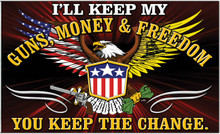 I'll keep my Guns, Money & Freedom shirt