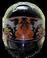 Tiger  Motorcycle Helmet Visors Sticker