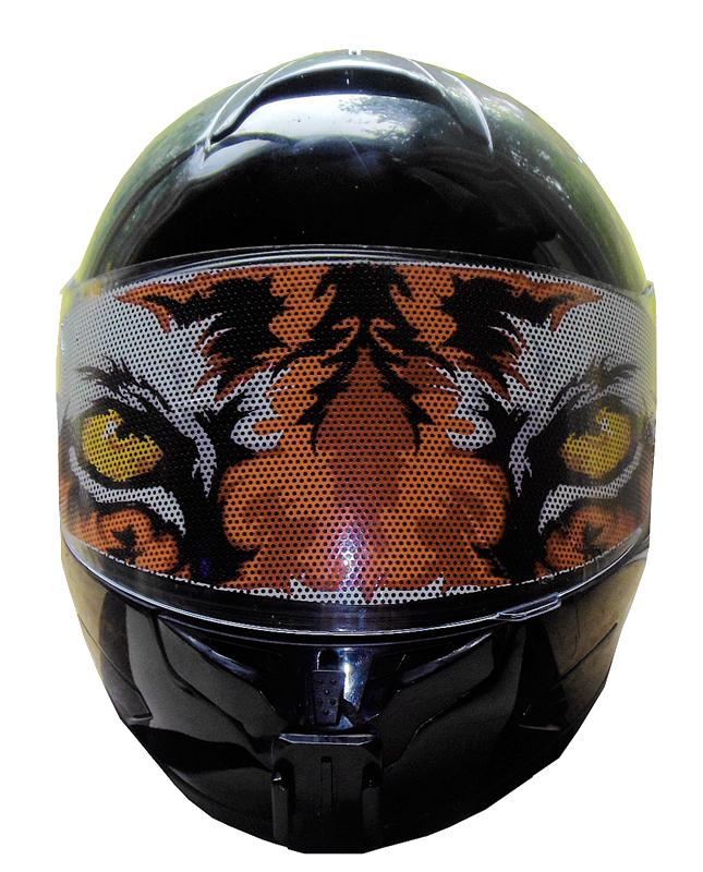 Tiger Motorcycle Helmet Visor on Tiger Gear Chart