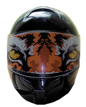 Tiger  Motorcycle Helmet Visors Sticker