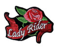 Lady Rider Patch
