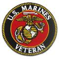 USMC Veteran Military Patches