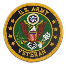 US Army Veteran Military Patches