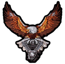 Storm Clouds Eagle Patch
