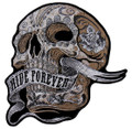 Banner Skull Patch