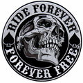 Spade Skull Ride Patch