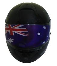 AUSTRALIAN FLAG VISOR SHIELD STICKER