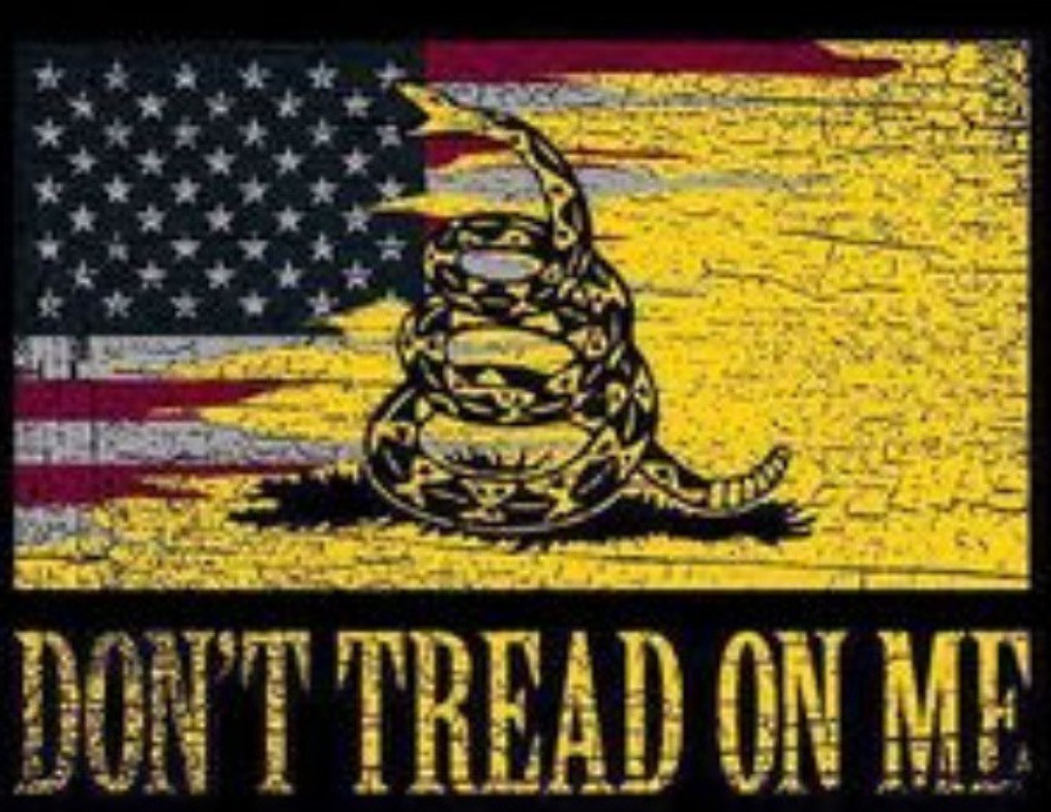 Don T Tread On Me Tshirt And Motorcycle Shirts