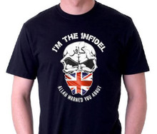 I'm the Infidel Allah Warned You About (England) T-Shirt