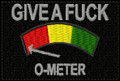 GIVE A FUCK O-METER Patch