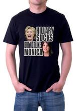 Hillary Sucks But Not Like Monica Shirt