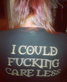 I Could Fucking Care Less Shirt