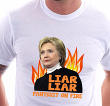 liar liar pantsuit on fire shirt