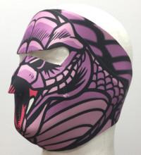 Snake Lady Neoprene Face Mask