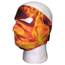 Flame Inferno Face Mask