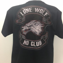 Lone Wolf No Club Shirt
