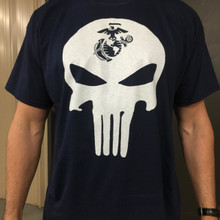 EGA Punisher Skull Shirt