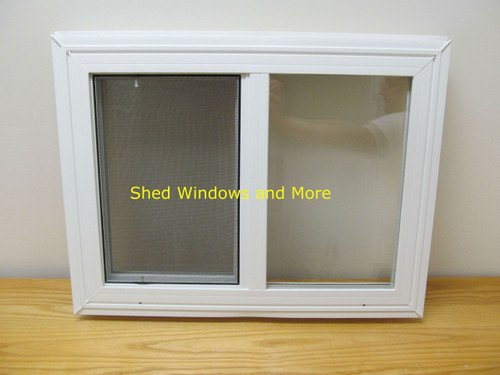 24 x 18 double pane horizontal sliding vinyl window for 18 x 24 vinyl window