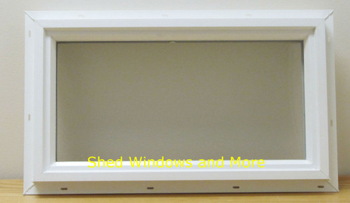 10x18 Transom Double Pane Vinyl Windows - Shed Windows and More, Inc.