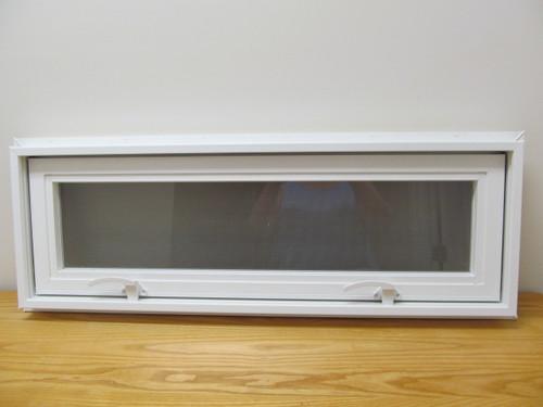 Vinyl Transom Windows : Quot awning transom insulated glass vinyl window