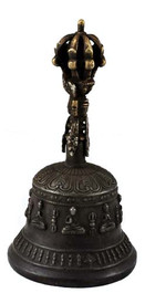 Buddhist Antique Bell and Dorje Set