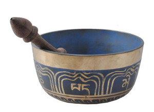 Blue 5 Inch Singing Bowl