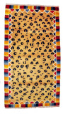 Cheetah Pattern Tibetan Meditation Rug