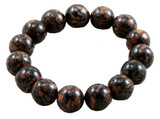Goldstone and Blue Goldstone Prayer Beads Wrist Mala- 108 Beads