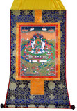 Green Tara Tibetan Buddhist Thangka