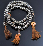 Om Symbol Mala with two sets of Counting Beads
