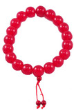 Red Beeswax Prayer Beads- 20mm