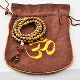 Sandalwood Prayer Beads Gift Set, 7mm Beads