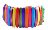 Tibetan Colorful Yak Bone Bracelet