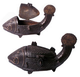 Tibetan Holy Fish Incense Burner- out of stock