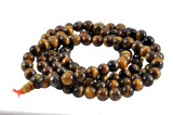 Tiger Eye Mala with a Red Cord