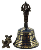 Bell and Dorje Set, Blue