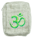 Hemp Wallet with Om Symbol