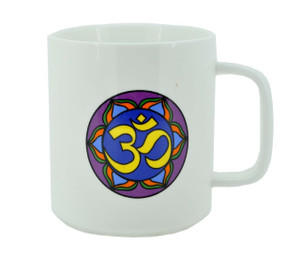 Coffee Mug with Om Symbol