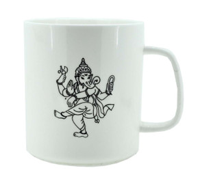Coffee Mug with Dancing Ganesh
