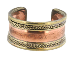Copper and Brass Ring