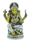 Ganesh Statue, Silver and Brass