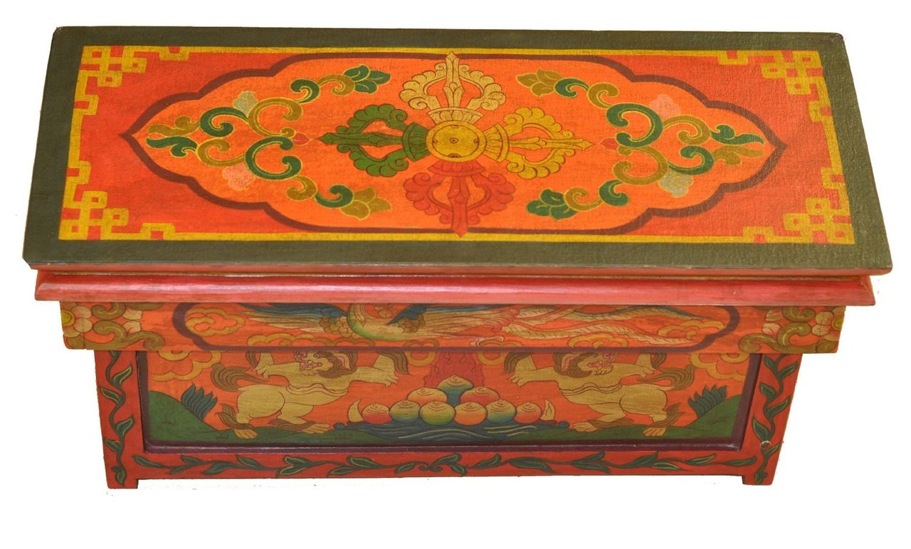 Exceptionnel Hand Painted Altar Table