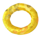 Extra-Large Tibetan Singing Bowl Ring, Yellow