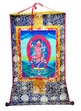 Tibetan Kurukulla, Goddess of Supreme Wisdom, Red Tara, Granter of Mundane Siddhis, Thangka Painting