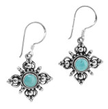 Turquoise Double Dorje Earrings