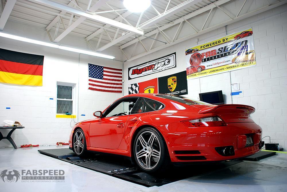 Porsche 997.2TT Wicked GTR 650 Rear Angle 2