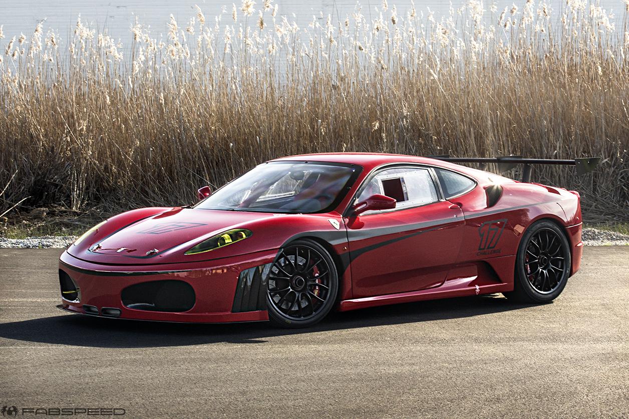 In The Shop Ferrari F430 Challenge Fabspeed Motorsport