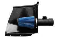 "Direct replacement for the factory airbox that utilizes the OEM ""ram air"" fresh air ducts for lower intake temperatures and added power."