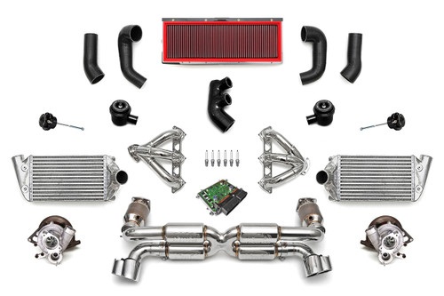 Fabspeed Motorsport, the preeminent source in the Porsche tuning industry, has developed the ultimate no-holds-barred turbo upgrade package for the 996 Porsche Turbo.